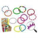 Friendship Bracelet, Animalz fluo, 6-sortie