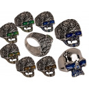 Mood times assorted , Skull, 4 sizes, 2 times asso