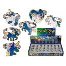 groothandel Sieraden & horloges: Stemmingsring,  Einhorn, maat verstelbaar, 6-