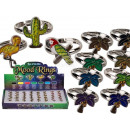 wholesale Rings: Mood times assorted , Tropical Style, 4- ...