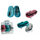 wholesale Shoes: Manicure set,  Beach Slipper, set of 5 in PVC case,