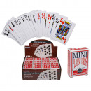 Mini-playing cards, poker, about 6 x 4 cm, 54 card