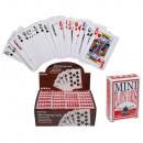 grossiste Jouets: cartes Mini-jeux, poker, environ 6 x 4 cm, 54 cart