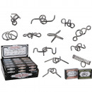 wholesale Mind Games: Metal puzzle,  Mini, 12 ass., 48 pcs. per display