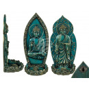 Polyresin incense holder, Thai Buddha , approx.