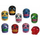 Großhandel Spardosen:,Polyresin-Spardose Coloured Skull, ca. 13 cm