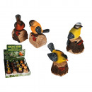 Motion Sensor,  Polyresin Bird with with animal voi