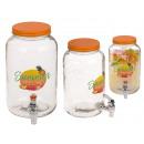 Glass Beverage Dispenser, Summer Feeling, Mason Ja
