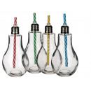grossiste Ampoules: Verre, ampoule,  avec fermeture à vis métallique