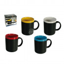 Writeable Ceramic Mug, with chalk for labelling, c