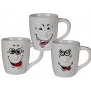 grossiste Farces et attrapes: tasse en  porcelaine, Funny  Face, ca. 13 x 11 ...