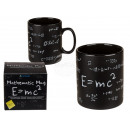 Black Stoneware Mug, Mathematic