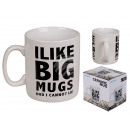 Ceramic Mug, I like big mugs and I can not lie,