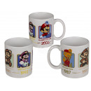 wholesale Party Items: Ceramic mug, Super Mario, for about 325 ml