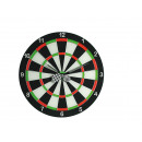 groothandel Klokken & wekkers: Glazen wand klok,  dartboard, D: 34 cm, voor 1 Mig