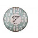 Wooden wall clock, Cafe de Paris, D: about 58 cm,