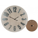 Wooden wall clock, Vintage I, D: about 60 cm