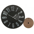 Wooden wall clock, Vintage II, D: about 60 cm