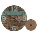 Wooden wall clock, Vintage III, D: about 60 cm