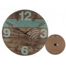 Orologio da parete in legno, Vintage III, D: circa