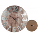 Wooden wall clock, Vintage IV, D: about 60 cm