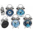 Metal alarm clock, ice princess, approx. 12 x 17 c
