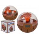 wholesale Clocks & Alarm Clocks: Plastic alarm clock, basketball, about 10 cm