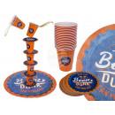 Alkoholos játék, Beer Dunk, 18 pohárral