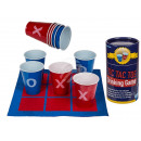 Plastic drinking game, Tic Tac Toe, with 10 cups