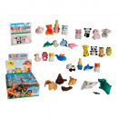 wholesale Puzzle: Puzzle eraser, ca.  4 x 2 cm, 6 series ass., 4 pcs.