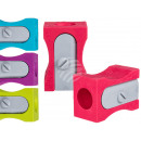 Eraser, Sharpener, approx. 6 x 4 cm, 4-color sor