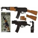 wholesale Puzzle: Eraser, machine gun, about 20 cm, on Blist