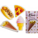 Eraser, Fast Food & Ice Cream, about 15 cm
