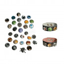wholesale Accessories & Spare Parts: Decorative press buttons, Funky Funky, 30 designs