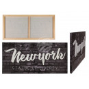 wholesale Pictures & Frames: 3D image, New York, linen on wooden frame, ...
