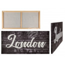 wholesale Pictures & Frames: 3D image, London, linen on wooden frame, about 80