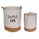 mayorista Casa y cocina: Bolsa de lavandería de algodón, con piso ...