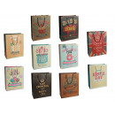 hurtownia Upominki & Artykuly papiernicze: Papier prezent  torba, styl  vintage, ok 26 x ...