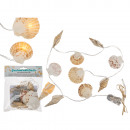 wholesale Light Garlands: Fairy lights, shells, with 9 warm white LED L: ...