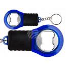 Metal bottle opener with key holder & LED
