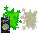 Stars glow in the dark, 50-piece set on B