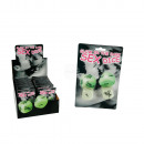 Love dice, Kamasutra, glow in the dark, set of 2 p