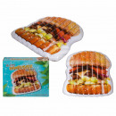 Inflatable air mattress, hamburger