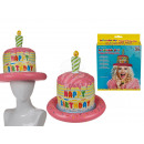 Inflatable hat, Happy Birthday cake, D: ca. 29