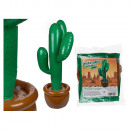 Inflatable cactus, H: about 86 cm, in polybag z