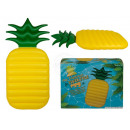 Inflatable air mattress, pineapple, about 165 x 80