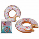Inflatable Swim Ring, Pink Donut
