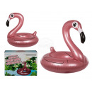 Inflatable swimming ring, flamingo, rose gold, app