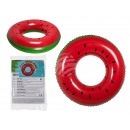 Inflatable swimming ring, watermelon, D: approx. 8