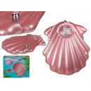 Inflatable air mattress, seashell
